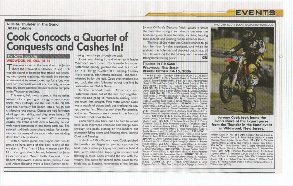 Cycle News 2006