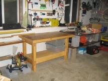 Homemade Garage Workbench Ideas