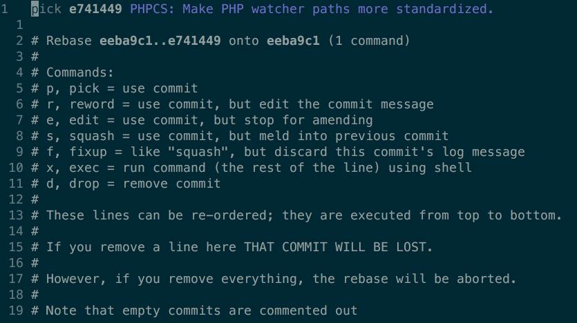 git commit command