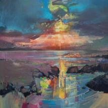 Harris Sky Scottish Hebrides Painting Of Luskentyre