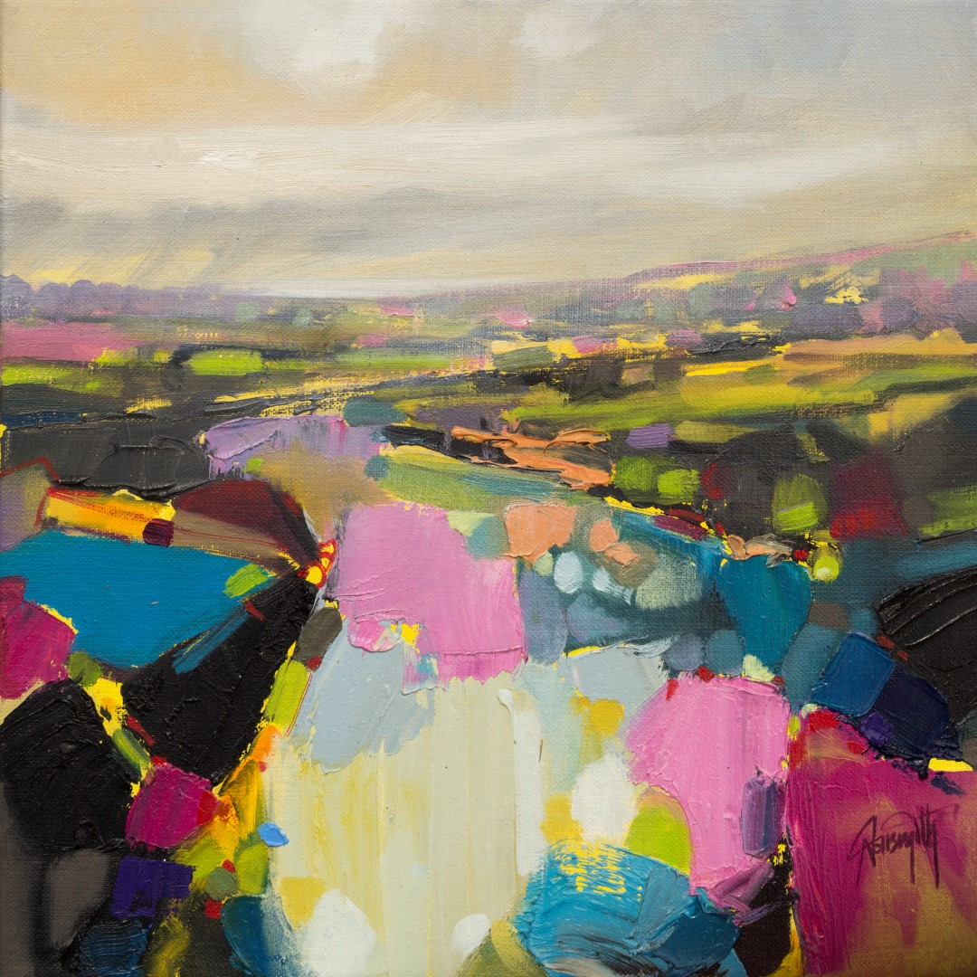 Potential Study 2 abstract landscape painting by Scott Naismith