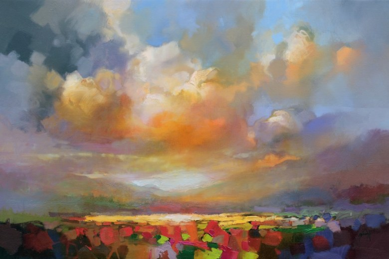 Cumulus Light 1 Large painting by Scott Naismith