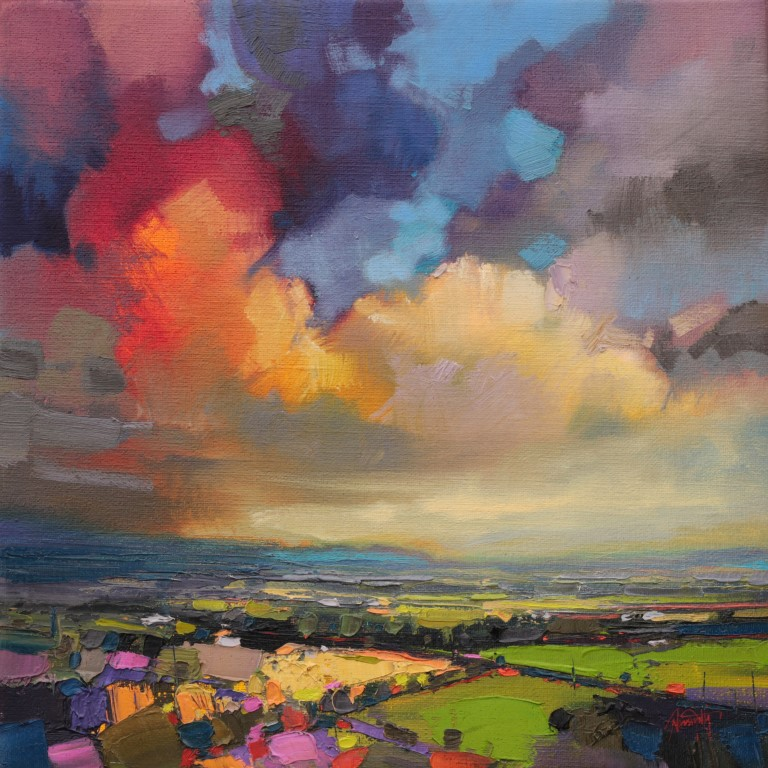 Fife Fields painting by Scott Naismith