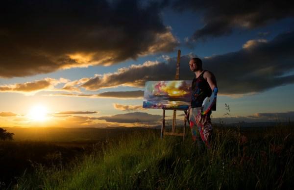 Scott Naismith Scottish Landscape Painting