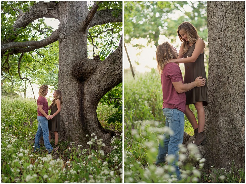 Columbia Missouri Fall Engagement  | Leigha & Trevor