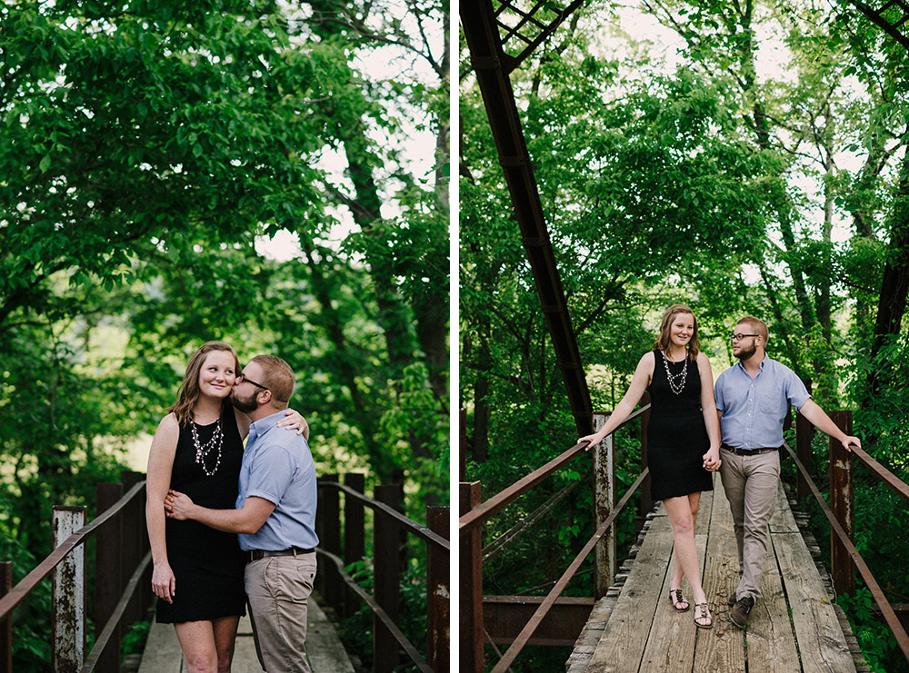 Columbia Missouri Summer Forest engagment Alex and Staci 002