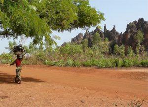 Les Pics de Sindou. Burkina Faso. Photo by Rita Willaert (via Flickr Creative Commons).