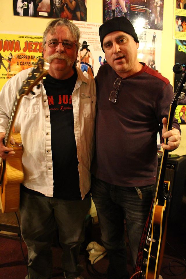 Rex Griffin & Scott Sawyer January 2015 Tate Street Coffee