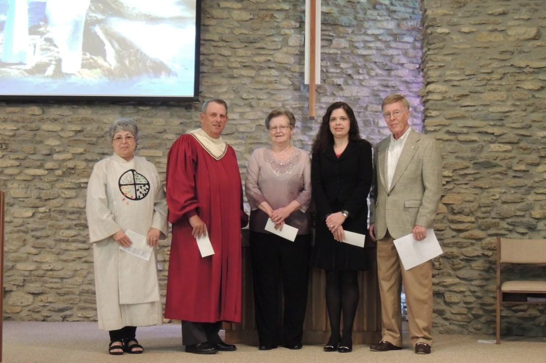 Presentation of Endowment Funds' Proceeds at Scottsburg United Methodist Church