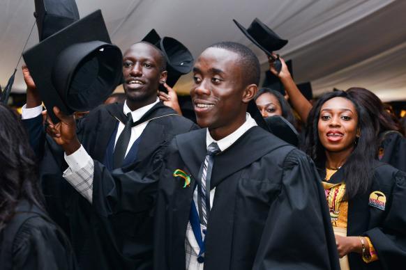 718 Graduate at Africa University!