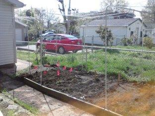 Garden Screen Protector Side View