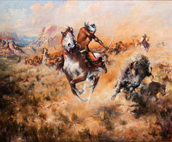 Buck Mccain - Western Fine Art Auctionwestern Auction