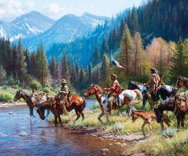 Martin Grelle Western Art