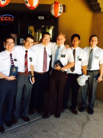 Elders Wojahn, Hodges, Haney, Biddulph, Shortland and Bateman @ Sushi