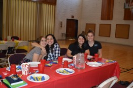 Sisters Doxey, Martinez, Medrano and Linford