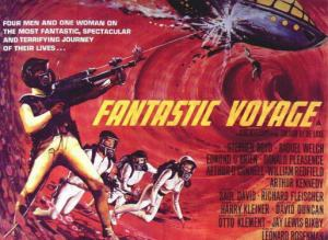 "A poster for the old movie ""Fantastic Voyage"""