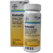 Bottle and Box of Ketostix