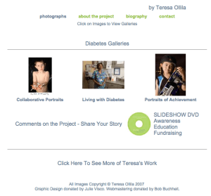 Diabetes Galleries by Teresa Ollila