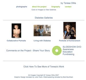 Diabetes Galleries by Teresa Ollila