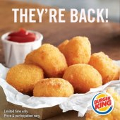 Burger King Cheesy Tots