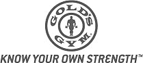 Logo for Gold's Gym