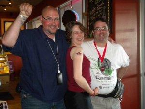 The Three Pancremaniac Red Riders