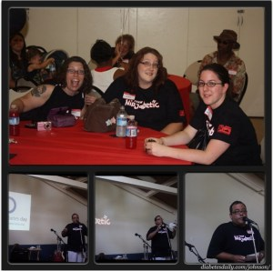Suzanne, Jaimie, Melissa, & George