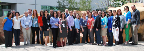 Group Photo from the 2012 Medtronic Diabetes Advocates Forum
