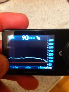 My Dexcom is anti-exercise