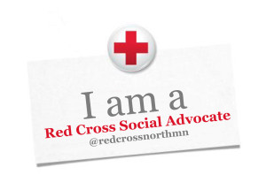 Red Cross Advocate Badge