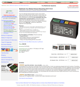 Product Description Page