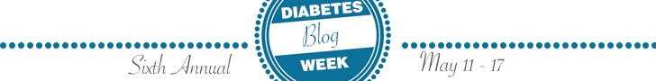 Banner for Diabetes Blog Week 2015