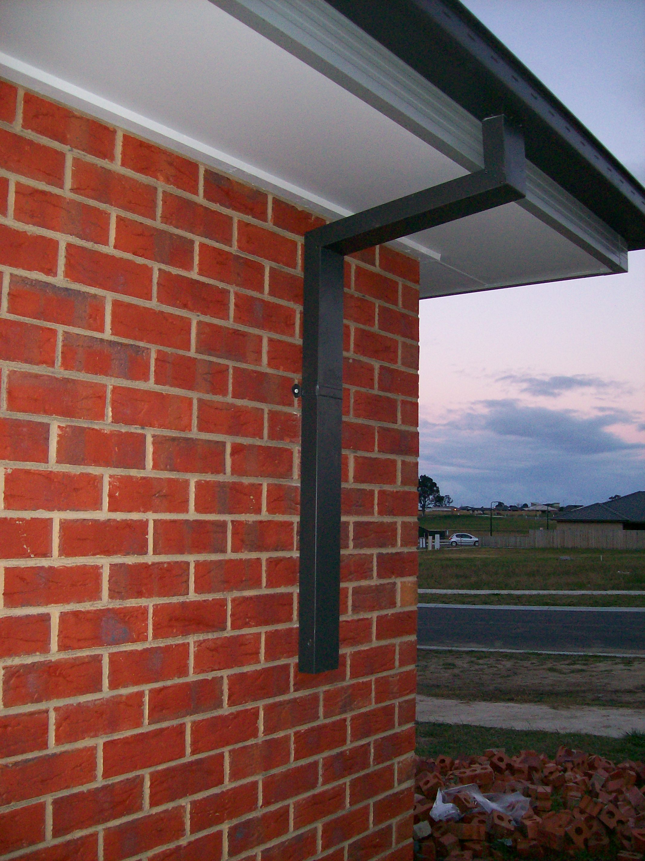 Electrical  Downpipes Finished  ScottsHouseBuildcom