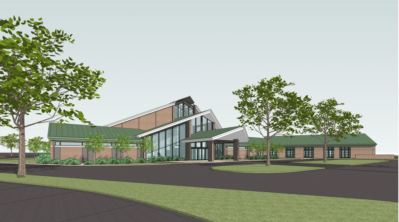 Harvest Time Church – Greenwich – Rendering of New Sanctuary