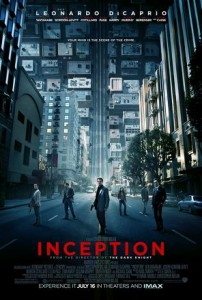 official Inception film poster