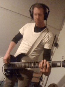 Jon Hill recording Death of Seasons