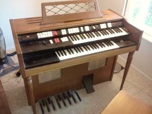 a Wurlitzer organ