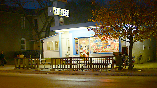 exterior of Peppy Grill