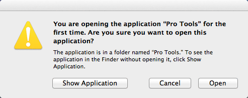 screen grab of an OS X alert dialog box