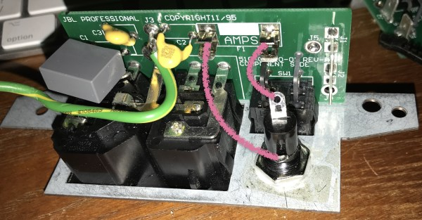 photo of power PCB