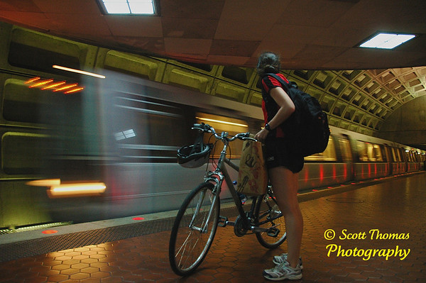 Foggy Bottom Metro Station, Washington, DC