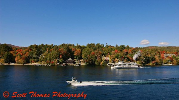Autumn Cruising on Lake George
