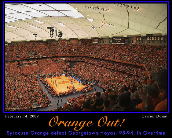 Orange Out!  Click Photo Now for to Order.