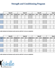 Strength training program template also progressive overload in  scott welle outperform rh scottwelle