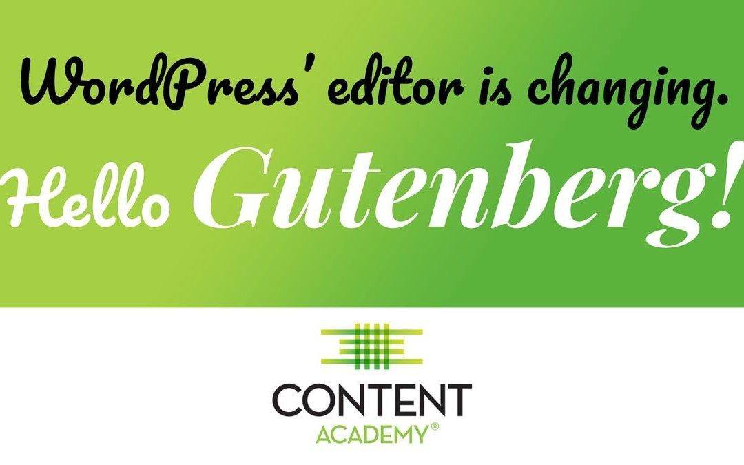 WordPress Gutenberg Demo Tutorial