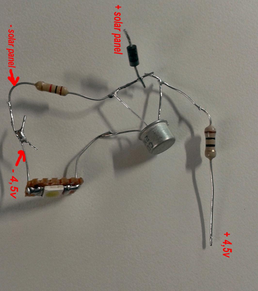 Simplest Automatic Solar Led Light Circuit Eleccircuit