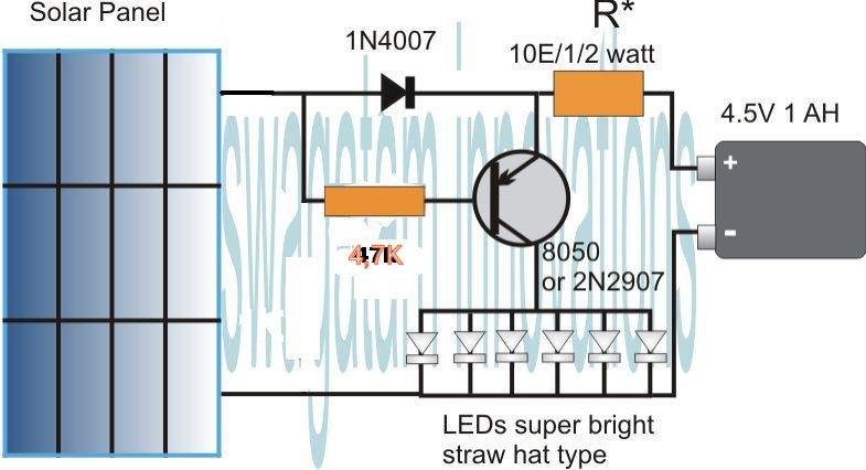 Solar Light Circuit Diagram – Ireleast – Readingrat Net