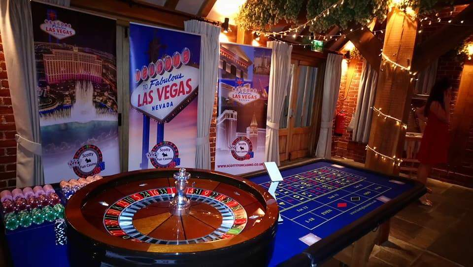 Las Vegas themed Casino Night, Events, Hire, Scotty Fun Casino, Essex, London v1