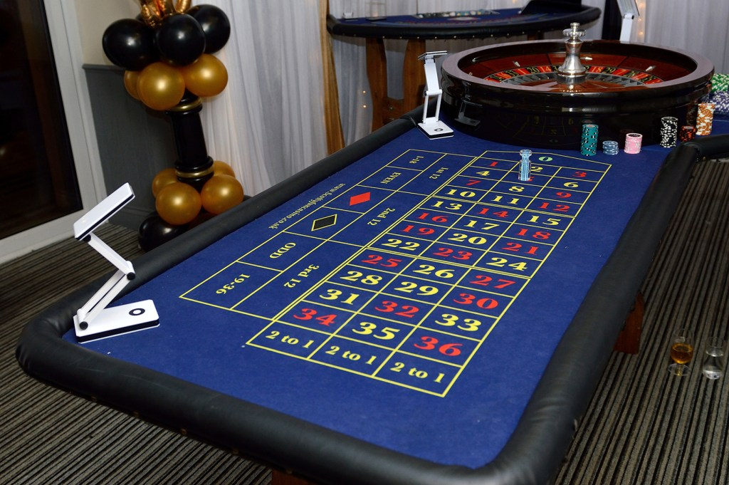 Roulette - Casino Night, Events, Hire, Scotty Fun Casino, Essex, London (2)