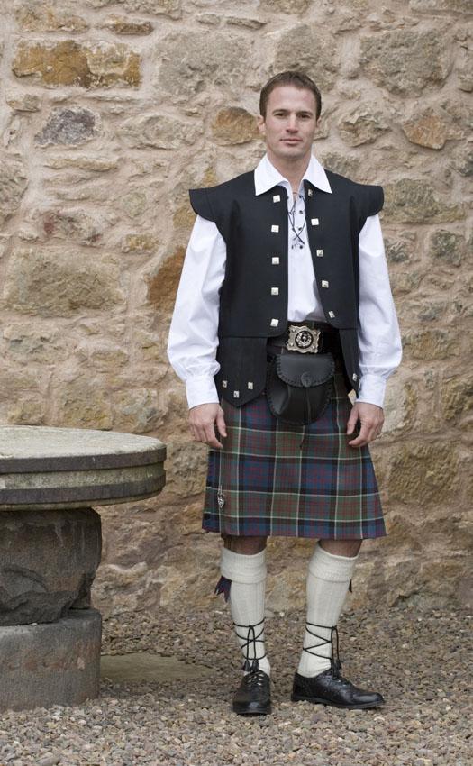Barathea Chieftain Waistcoat by Scotweb